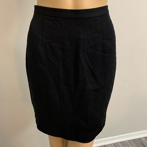 Ann Taylor LOFT Women's Black Pencil Skirt Size 2P